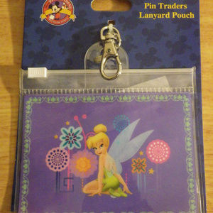Disney Pin Traders Tinkerbell Pouch